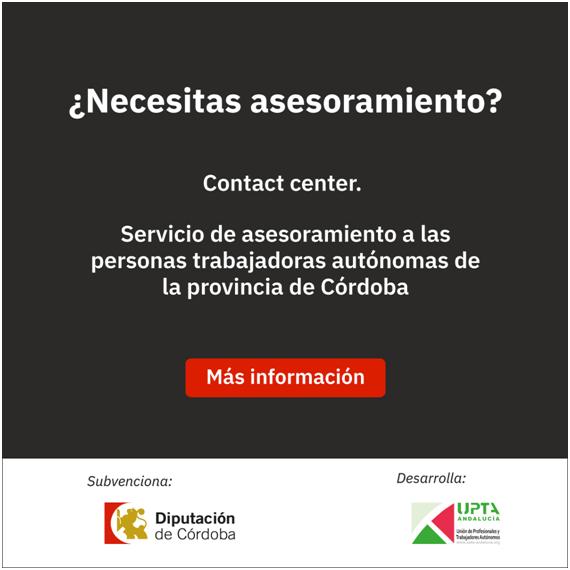 Servicio de asesoramiento a las personas trabajadoras autónomas de la provincia de Córdoba ante la crisis de la Covid-19 1