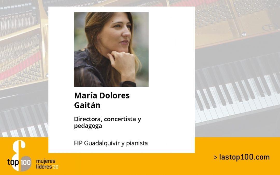 María Dolores Gaitán entre el top 100 mujeres líderes en España 2020 1