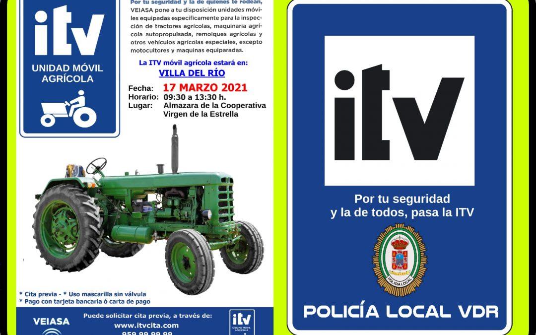 Policía Local | ITV Movil Agricola  1