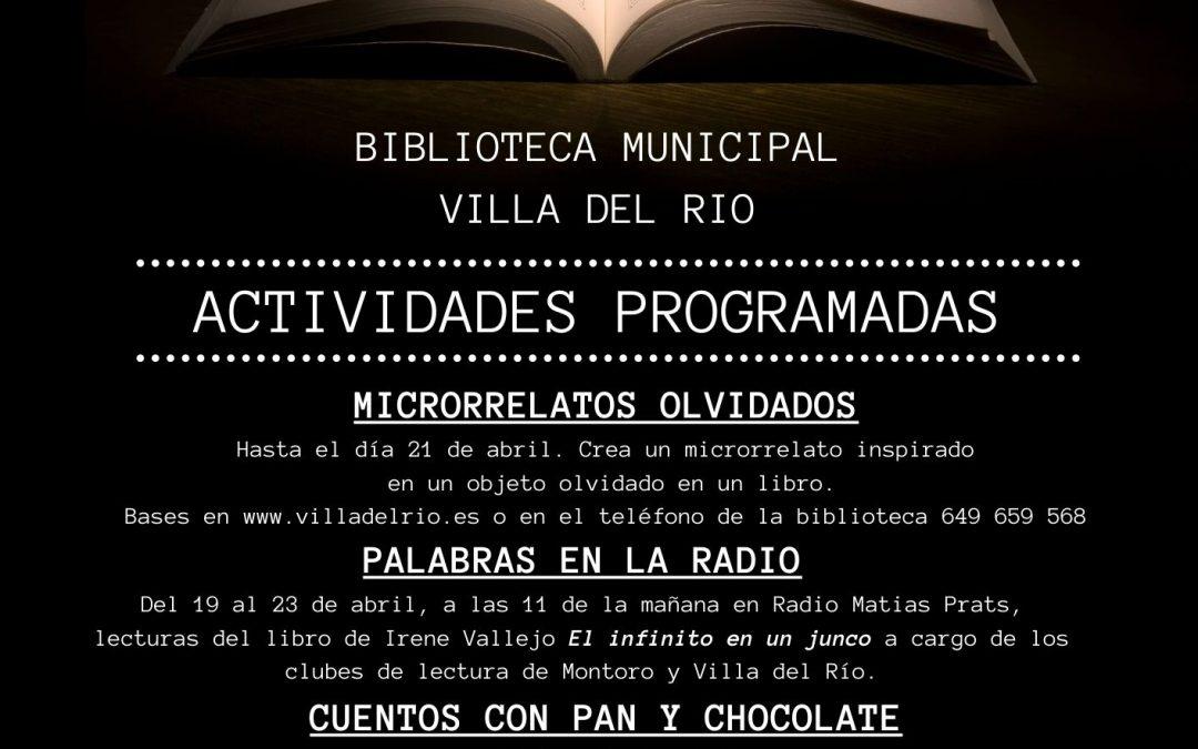 Biblioteca Municipal   Día del Libro 1