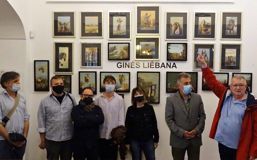 Centenario Ginés Liébana   Inauguración de las exposiciones en el Museo Histórico Municipal 'Casa de las Cadenas'.      3
