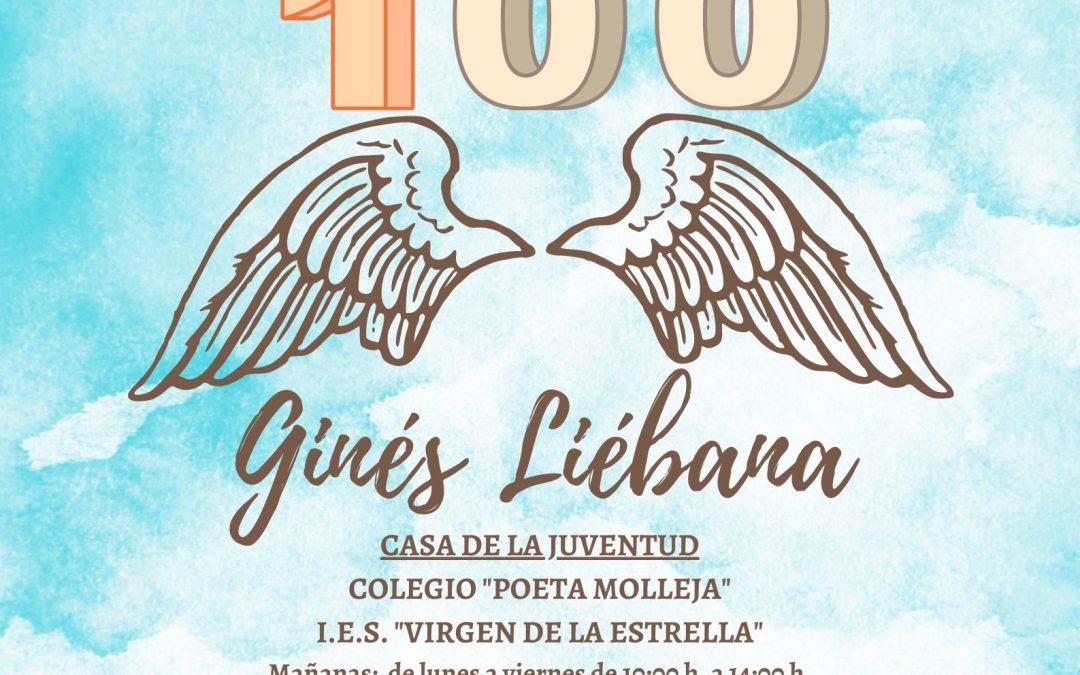Centenario de Ginés Liébana | Exposiciones de tarjetas de felicitación a Ginés Liébana con motivo de su centenario 1