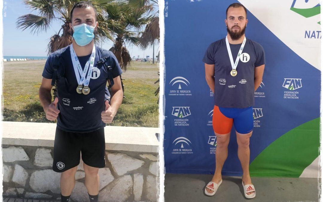 El villarrense Juan Antonio Martos Palomino logra dos medallas de oro en el XVIII Campeonato de Andalucía Máster de Invierno de natación 1