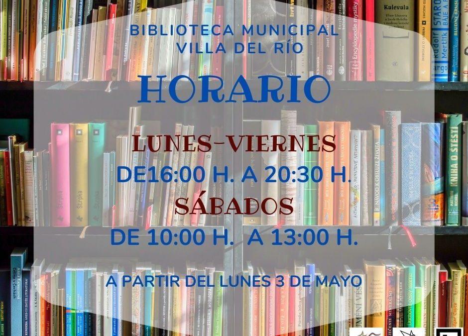 Horario de la Biblioteca  1