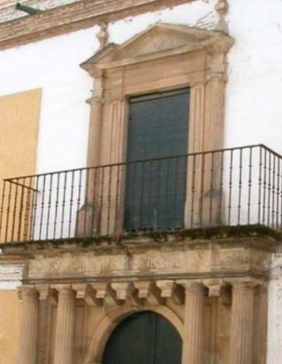 Palacio del marqués de castillo del valle de Sidueña. Del año 1817. Ejemplo importante de arquitectura local
