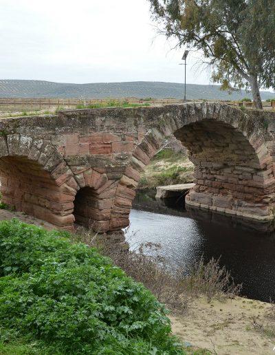 El Puente Romano constituye un signo de identidad para el pueblo de Villa del Río por su valor arquitectónico y artístico