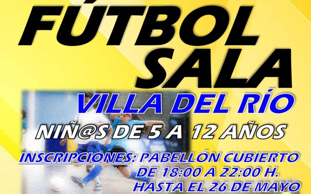 Escuela de Fútbol Sala de Villa del Río  1