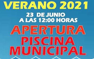 APERTURA PISCINA MUNICIPAL VERANO 2021