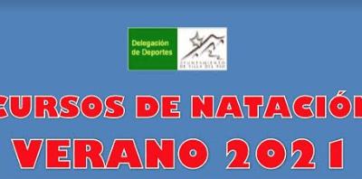 CURSOS DE NATACIÓN VERANO 2021