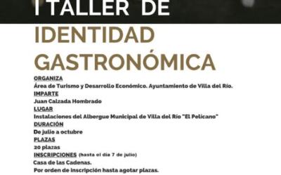 I TALLER DE IDENTIDAD GASTRONÓMICA DE VILLA DEL RÍO