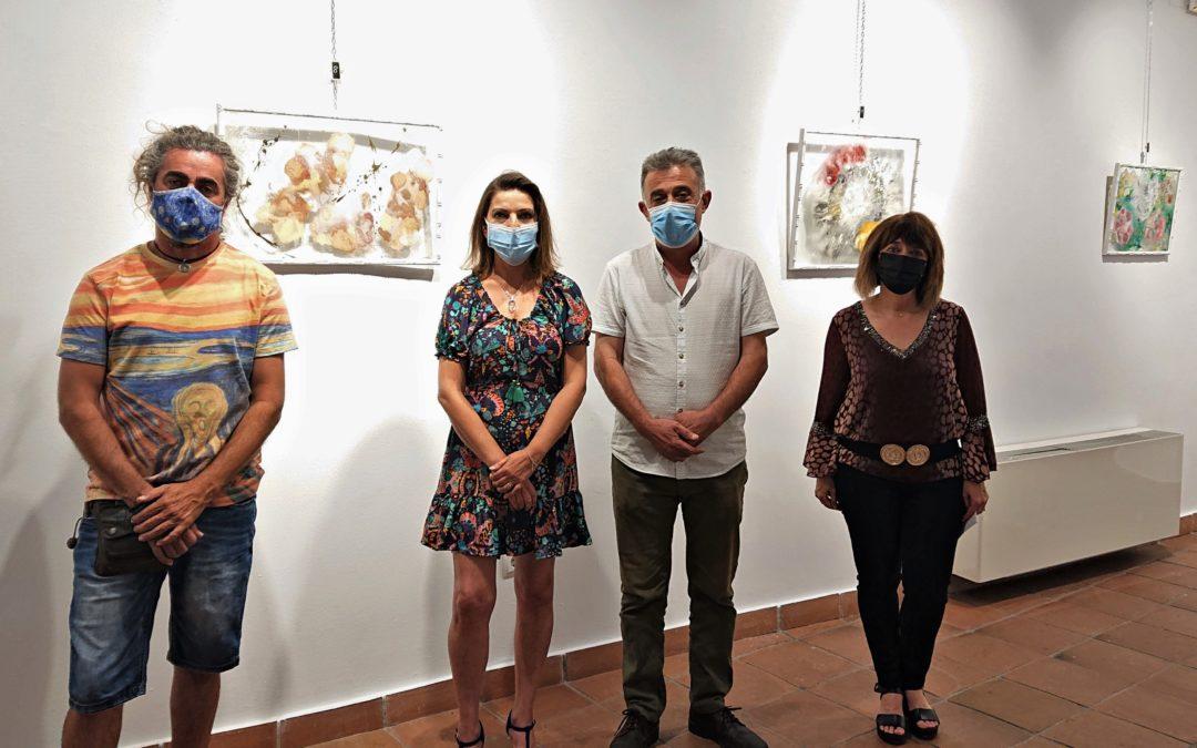 INAUGURACIÓN DE LA EXPOSICIÓN DE PINTURA 'CRISTAL VS BAMBÚ' DE INMA SERRANO