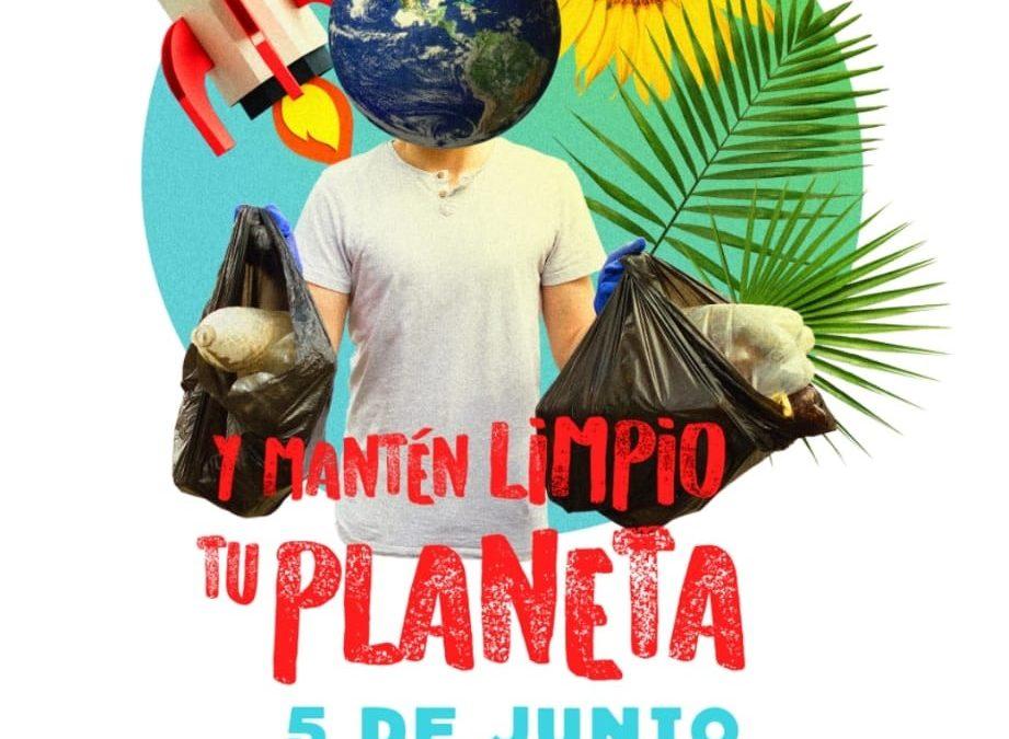 NO SEAS JETA Y MANTÉN LIMPIO TU PLANETA