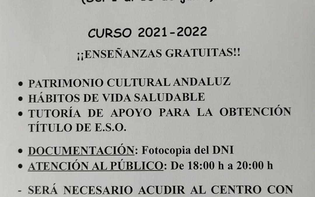 SECCIÓN DE EDUCACIÓN PERMANENTE VILLA DEL RÍO