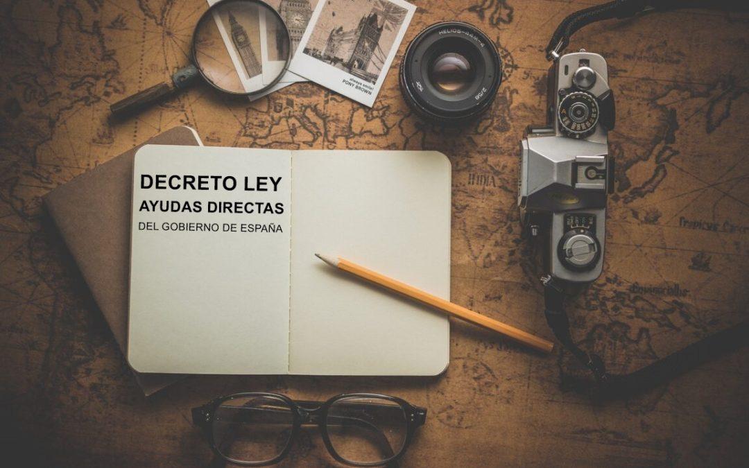 LA JUNTA DE ANDALUCÍA PUBLICA EL DECRETO LEY POR EL QUE SE REGULARÁN LAS AYUDAS DIRECTAS DEL GOBIERNO DE ESPAÑA