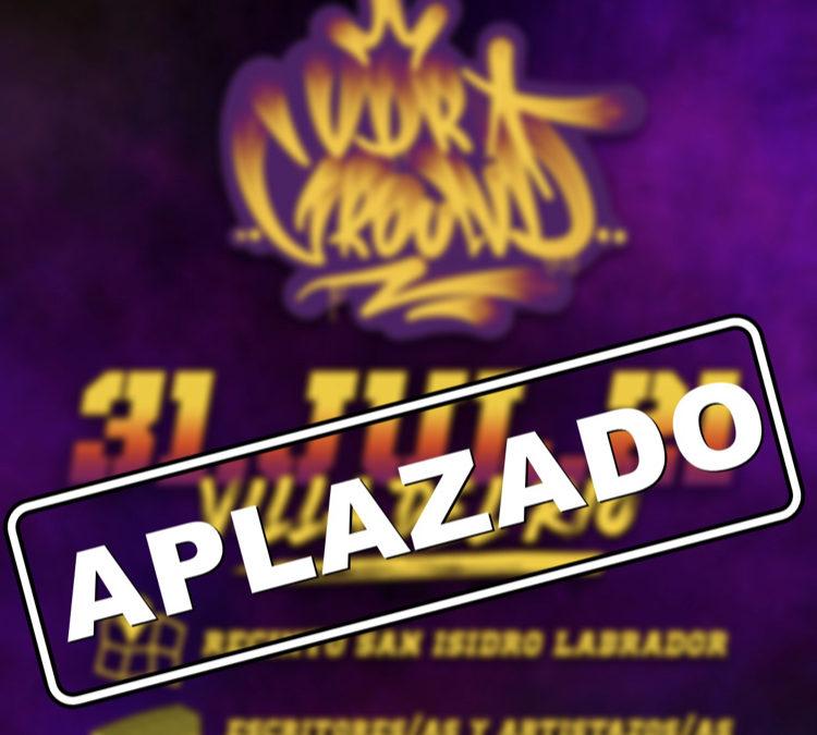 COMUNICADO | APLAZADO EL EVENTO 'VDR GROUND'