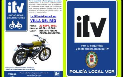 POLICÍA LOCAL /  ITV CICLOMOTORES