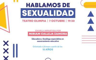 CONFERENCIA | HABLAMOS DE SEXUALIDAD