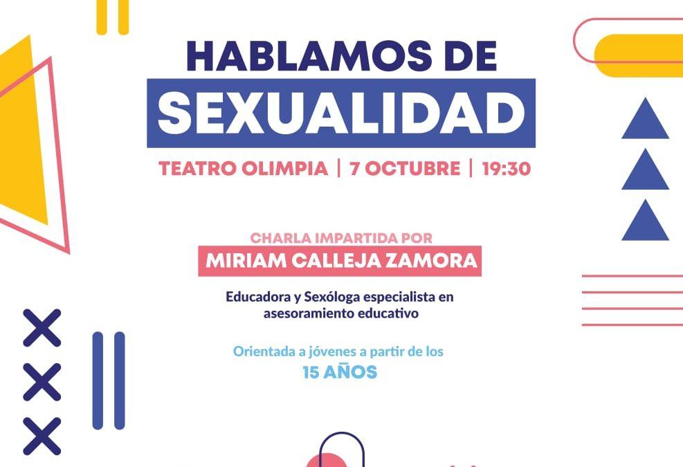 CONFERENCIA   HABLAMOS DE SEXUALIDAD